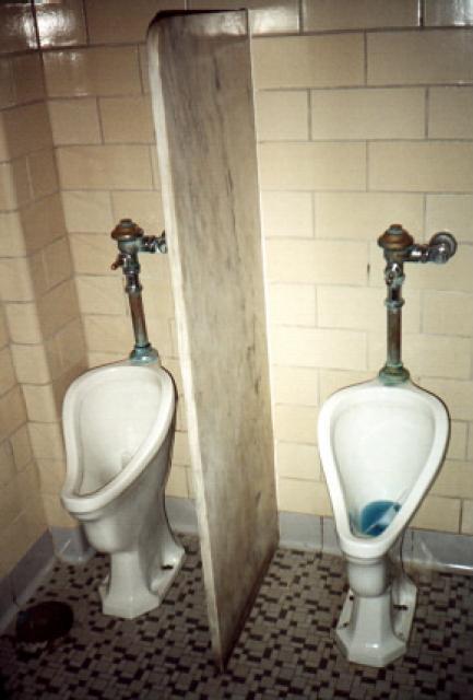 The Urinals Of Natural Bridge National Historic Landmark