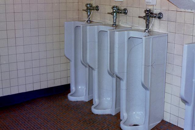 The Urinals of Seton Hall University